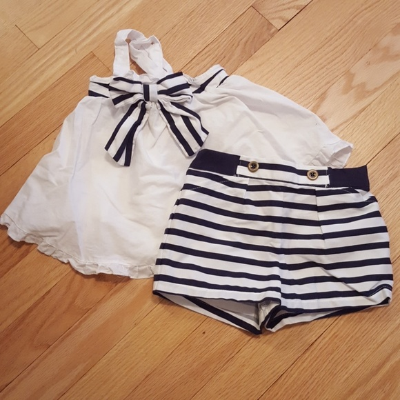 0596bf93b027 Maggie & Zoe Matching Sets | Maggie And Zoe Nautical Tank And Shorts ...